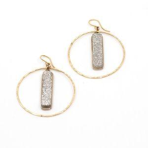 Jewelry - Druzy Bar Earrings
